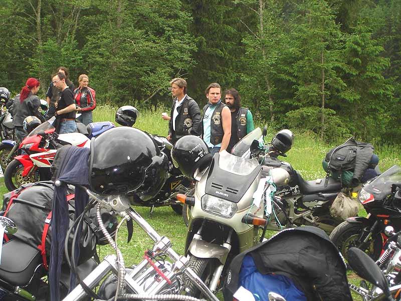 2006 Biker Hochzeit MC Number Three - Frank & Niki