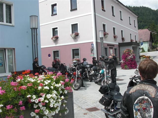 2011 Clubausfahrt zu den Raben 6.08.2011
