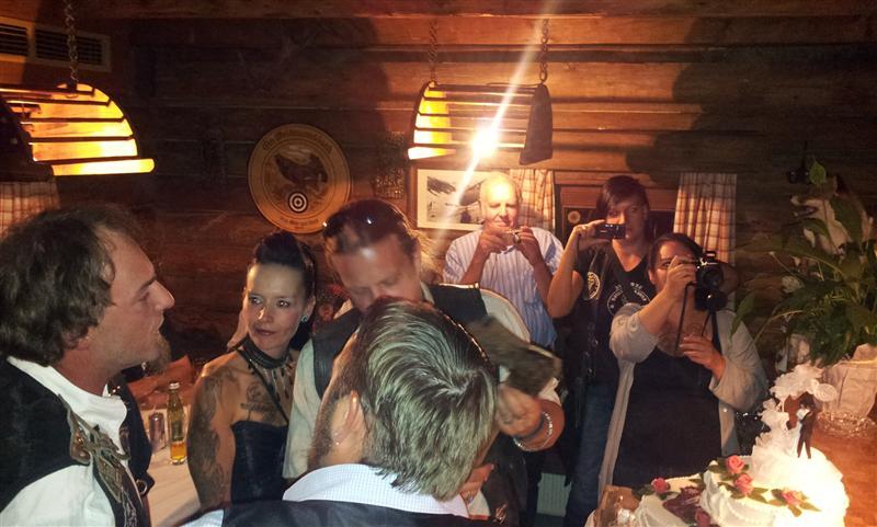 2012 Hochzeit Astrid u. Max MC Rolling Skulls 15.09.12