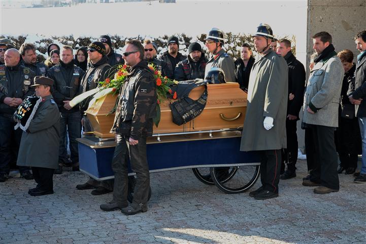 Begräbnis Specki 29.01.2014