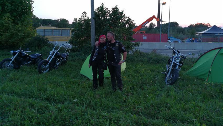 2017 22.09 - 24.09  Grup X Friul  Italien Bikertreffen