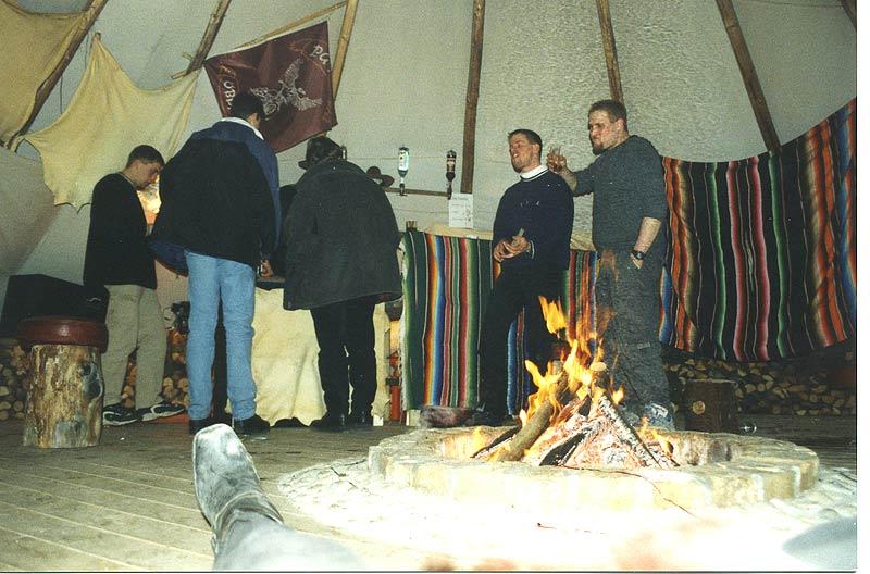 2000 Fasching  mit Tipi Bar