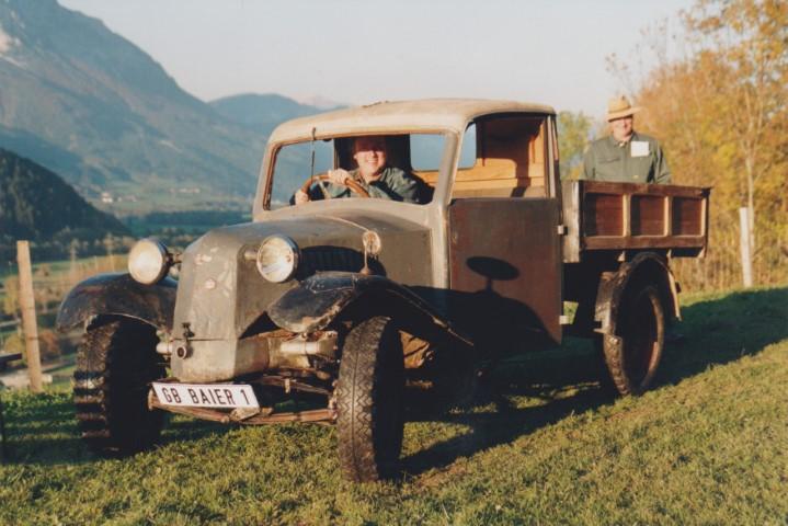 1995 Oktober Bill und Baier Hans