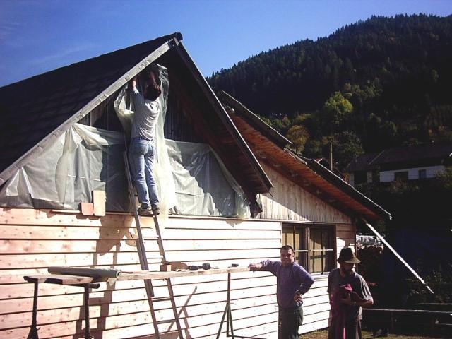 2004 Clubhaus Verschallung