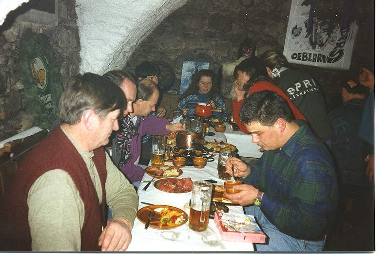 1995 Weihnachtsfeier